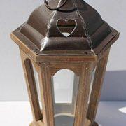 Bois-et-Mtal-Lanterne-Vintage-Bougie-Lumignon-Holder-Jardin-Dcoration-de-mariage-0