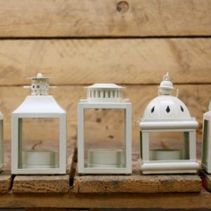 Carousel-Home-Lot-de-5-lanternes-en-mtal-pour-bougies-chauffe-plat-Crme-0