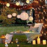 Lights4fun-Lot-DE-12-Lanternes-Blanches-avec-Bougies-LED--Piles-pour-IntrieurExtrieur-0-0