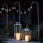 Lights4fun-Lot-DE-2-Lanternes-en-Mtal-Galvanis-avec-Bougie-LED-pour-Jardin--Piles-0-0