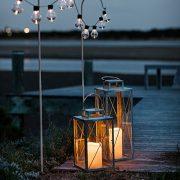 Lights4fun-Lot-DE-2-Lanternes-en-Mtal-Galvanis-avec-Bougie-LED-pour-Jardin--Piles-0-1