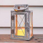 Lights4fun-Lot-DE-3-Lanternes-en-Mtal-Galvanis-avec-Bougie-LED-pour-Jardin--Piles-18cm-0-0