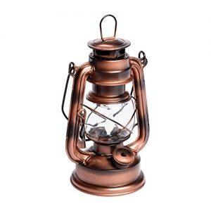 LuminalPark-Lanterne-Old-Style-Color-cuivre-Antique--Batterie-H-19-cm-LED-Ambre-0