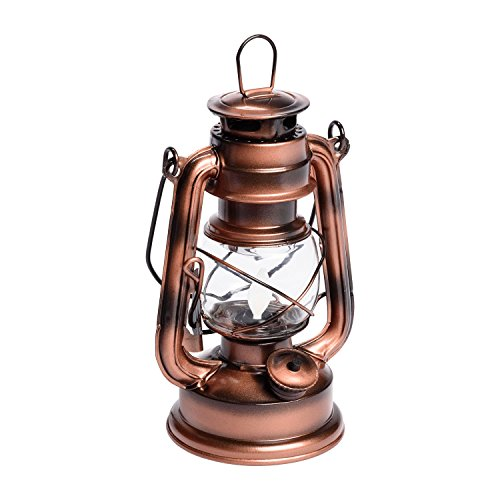 LuminalPark-Lanterne-Old-Style-Color-cuivre-Antique–Batterie-H-19-cm-LED-Ambre-0