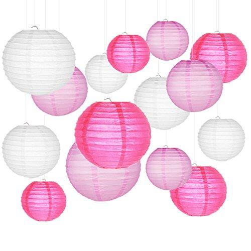 lampions-Smaluck-15-Packs-chinois-Lanterne-ronde-papier-Dcorations–suspendre-avec-assortiment-de-couleurs-et-de-tailles-pour-un-anniversaire-de-mariage-Mariage-Baby-Shower-Festival-Dcorations-de-fte-0