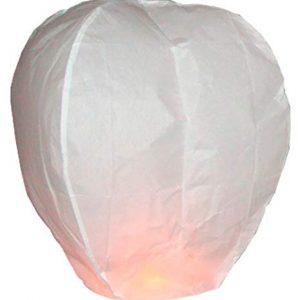 10-x-Lanternes-Blanches-chinoise-celestes-volantes-biodgradable-pour-ftes-moments-romantiques-et-magiques-0
