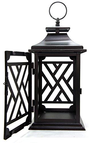Grande-lanterne-Yankee-Candle-officiel-en-mtal-noir-style-vintage-thme-Fumoir–cigare-accessoire-de-dcoration-bougie-non-incluse-0