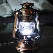 Lot-de-2-Lanterne-LED-Tempte-Lampe-Decorative-Vintage-Retro-Bronze--Pile-pour-Camping-Maison-Table-Dco-de-PK-Green-0-1