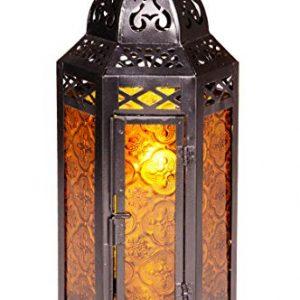 Petite-Lanterne-marocaine-dcorative-Liyana-30cm-orange-Photophore-marocain-pour-lextrieur-au-jardin-ou-lintrieur-sur-la-table-Lanternes-pour-bougie-dcoration-de-maison-orientale-0