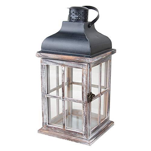 Lanterne-Dcoration-Vintage-Bois-en-Mtal-Cadeau-Maison-avec-Poigne-Suspendue-Jardin-Mariage-Europenne-Style-Exquis-Bougeoir–La-Main125-125-28CM-0