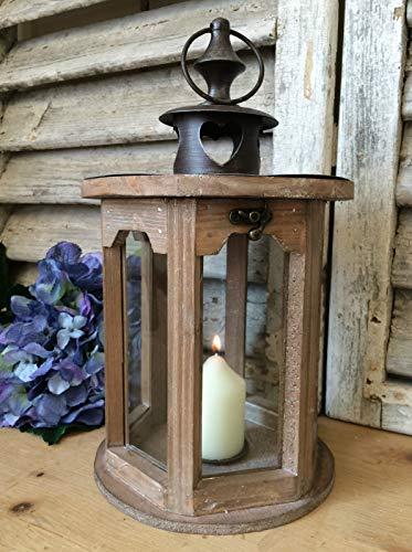Lanterne-en-bois-et-mtal-vintage-pour-bougie-chauffe-plat-Dcoration-de-mariage-0