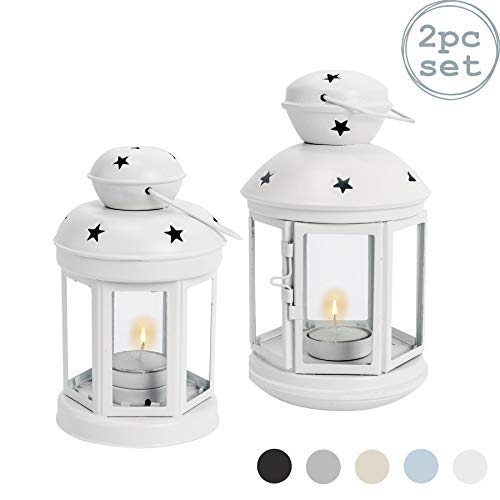 Nicola-Spring-Bougie-lanternes-Porte-Photophore-Vintage-en-mtal-Suspendu-Intrieur-Extrieur-Ensemble-de-2-0