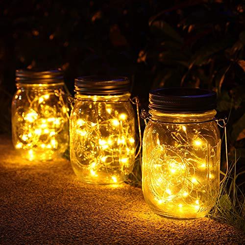 3-Pices-Solaire-Lumire-Jardin30-Led-Lanterne-Solaire-Suspendu-ExterieurImpermable–leau-Mason-Jar-LampesLuminaires-dcoration-pour-JardinNoelCour-Mariage-Fte-0