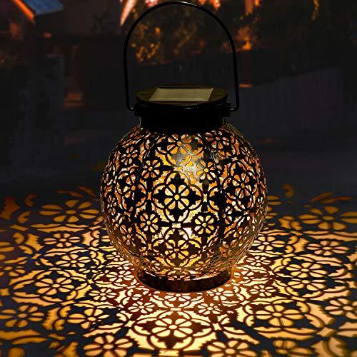 Lanterne-Solaire-Jardin-GolWof-LED-Lanterne-Solaire-Extrieure-Decorative-tanche-IP44-clairage-Solaire-Extrieur-Lampe-Lanterne-Sans-fil-Rechargeable-pour-Chambre-Patio-Garden-Fte-Halloween-Nol-0