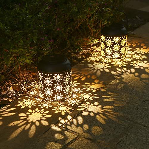 Lanterne-Solaire-Tomshine-2-Pices-LED-Lampe-lanterne-extrieure-Etanche-IP65Sans-fil-Rechargeable-pour-Garden-Patio-Courtyard-Extrieur-Classe-nergtique-ALT193-0