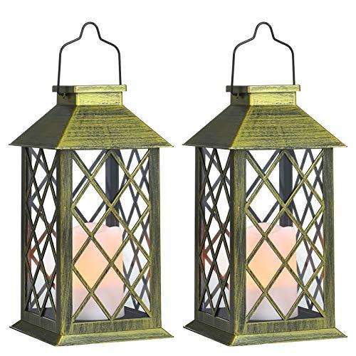 Tomshine-Lanterne-Solaire-LED-Lampe-solaire-extrieure-avec-Bougie-LED-Flamme-Fire-Effet-Sans-fil-portable-rechargeable-pour-Garden-Patio-Courtyard-Outdoor-Classe-nergtique-A-Classe-nergtique-A-0